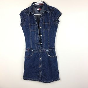 Tommy Hilfiger Women's Dress Small Vintage Jean